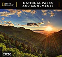 Cal 2020-National Geographic National Parks & Monuments Wall