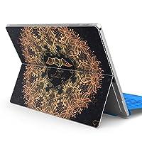 Surface pro6 pro2017 pro4 専用スキンシール サーフェス ノートブック ノートパソコン カバー ケース フィルム ステッカー アクセサリー 保護 その他 ハート レース 006449