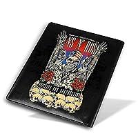 Guns N' Rosesガンズ・アンド・ローゼズ Book Cove ノートカバー ブックカバー 本カバー おしゃれ 文庫本カバー PUレザー ファイル オフィス用品 読書 日記 収納入れ 機能性 耐久性 個性 子供 大人 読書 資料 雑貨 収納入れ メモ帳カバー プレゼント 贈り物