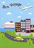 ボート、飛行機、タクシーBon Voyageカード