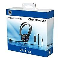 公式PS4有線チャットヘッドセット