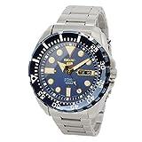 セイコー Seiko Men's Stainless-Steel Automatic Divers Watch 100M W/R (Made in Japan) - SRP605J1 男性 メンズ 腕時計 【並行輸入品】