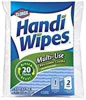 Clorox Handi Wipes Multi-Use Reusable Cloths, 6 Count by Clorox