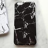 (リリレナ)LiLiRena モノトーン シンプル マーブル 大理石柄 スマホケース iPhone6s iPhone6 iPhone6Plus ケース iphone6sケース カバー iPhone 6s アイフォン6 ip160711(ブラック,iPhone6 / 6s)