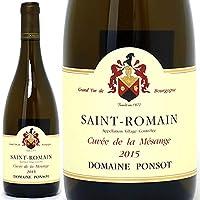 2015 サン ロマン ブラン キュヴェ ド ラ メサンジュ 750mlポンソ 白ワイン コク辛口 ワイン ((B0PORB15))