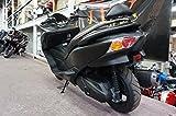 フォルツァ バックレスト付 極太 タンデムバー FORZA 250 Z2 X3 MF10 (全年式) ダークホース ステンレス 38Φ