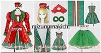 東京ディズニーシー(TDS) クリスマス・ウィッシュ2016 パーフェクト・クリスマス ミニー パニエ付き コスプレ衣装