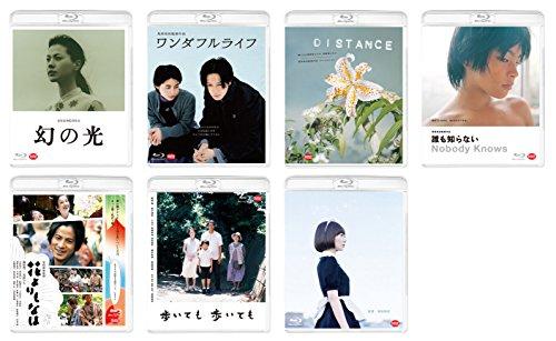 【早期購入特典あり】 2018年5月25日発売 是枝裕和監督Blu-ray7タイトルセット (是枝裕和監督メッセージカード(全1種共通)&7タイトルコンプリート収納BOX付)