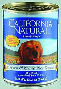 カルフォルニアナチュラル ドッグフード缶 チキン&玄米 374g