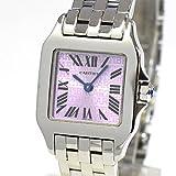 [カルティエ]Cartier 腕時計 サントス ドゥモワゼル SM W2510002 中古[1291157]パープル