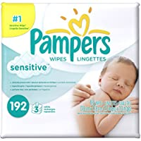 Pampers Sensitive Baby Wipes Refills, 192 sheets by Pampers [並行輸入品]