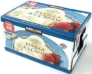 カークランド スーパープレミアム バニラアイスクリーム 1890ml×2個パック 要冷凍