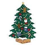 サンリオ クリスマスカード 洋風 立体 大型フェルトツリー  S6198