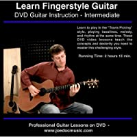 Learn to Play Fingerstyle & Travis Picking Acoustic Guitar Style - Lessons On DVD
