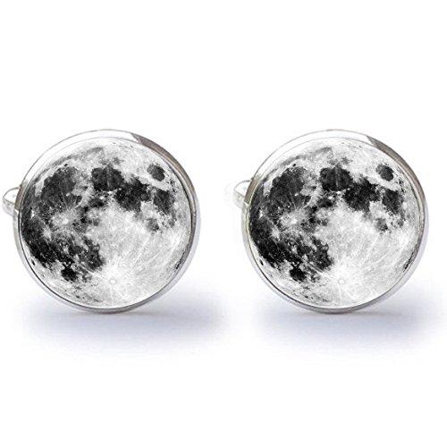 MFYS Jewelry 「Take Me to The Moon」 つき 月 Moon カフス カフスボタン・カフリンクス[専用BOX付き]