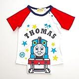 きかんしゃトーマス 半袖Tシャツ 90-100cm(88302) (95cm, ホワイト)