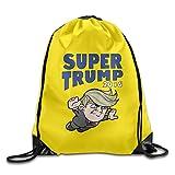 FreedomHip リュックサック ナップサック スポーツバッグ ドナルド・トランプ Super Trump カッコいい 人気 大統領