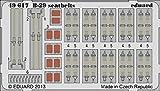 EDU49617 1:48 Eduard Color PE - B-29 Superfortress Seatbelts (for use with the Revell/Monogram kit) MODEL KIT ACCESSORY by Eduard [並行輸入品]