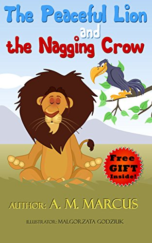 amazon co jp children s book the peaceful lion and the nagging