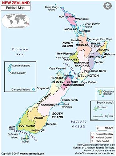 政治マップニュージーランド( 36