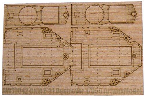 ピットロード 1/350 木製甲板ドイツ Z級駆逐艦 Z-31用  DR社用  / AW1042