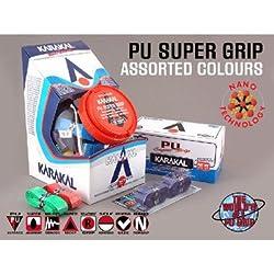 バドミントン スカッシュ テニスグリップ PU SUPER GRIP Assorted KARAKAL カラカル