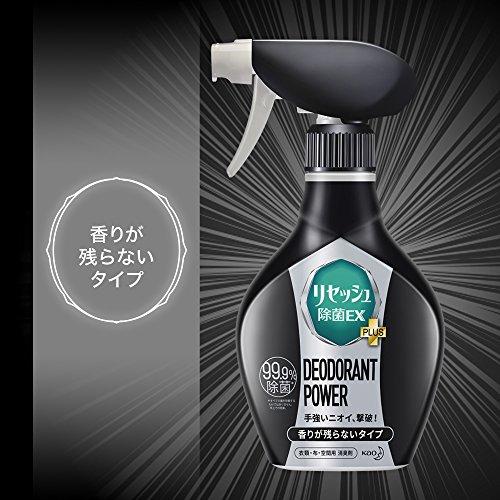リセッシュ 除菌EX デオドラントパワー 香りが残らないタイプ 詰替 310ml