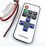LED テープ ライト デイライト 調光 点滅 リモコン ワイヤレス コントローラー