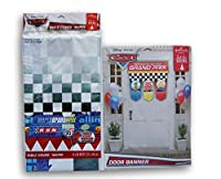 Cars Party Supply Set - Table Cover and Door Banner [並行輸入品]