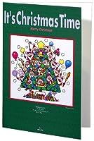 クリスマスカードXCD(Time Tree-55)(29.7×21.0)・ジクレー版画
