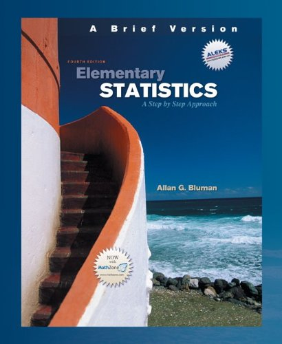 Download Elementary Statistics: A Brief Version w/Data Disk 0073347140