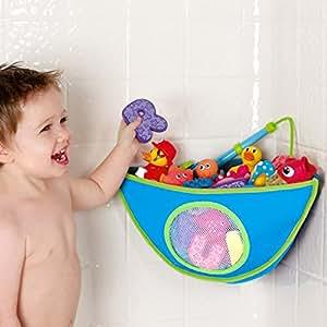 MAMENCHI お風呂用トイケース おもちゃ収納