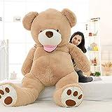 IKASA ぬいぐるみ 特大 くま テディベア 可愛い熊 動物 大きい くまぬいぐるみ 熊縫い包み クマ 抱き枕 お祝い ふわふわ  お人形 女の子 男の子 子供 女性 抱き枕 プレゼント ビッグサイズ (250cm)