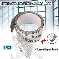 画面パッチ修理キットウィンドウ画面の修理テープグラスファイバーカバーメッシュ窓スクリーニング修理ステッカー抗昆虫フライバグ