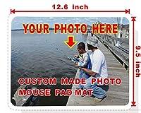 ロックエッジ カスタムメイド マウスパッド パーソナライズマウスパッド 12.6 x 9.5 inch