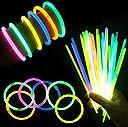(iSmile) サイリウム ルミカ 光る ブレスレット 10色 100本セット 蛍光 ペンライト ケミカルライト