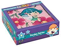 Mudpuppy Garden Fairies Block Puzzle [並行輸入品]