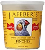 Lafeber's Premium Daily Diet Pellets for Finches 1 lb. tub by Lafeber