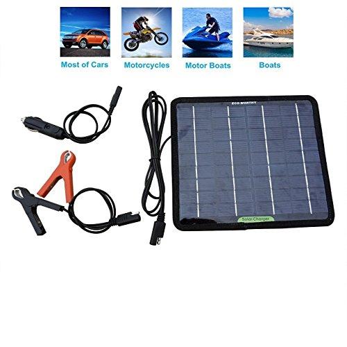 ECO-WORTHY 携帯 ソーラーパネルチャージー