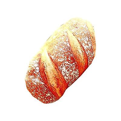 My Vision 【 巨大 超リアル 】 ヤマモリ 春 の パン 祭り クッション 枕 抱き枕 座布団 ピロー 大きい ( Mサイズ・石窯パン ) MV-PANMATU-M-IS
