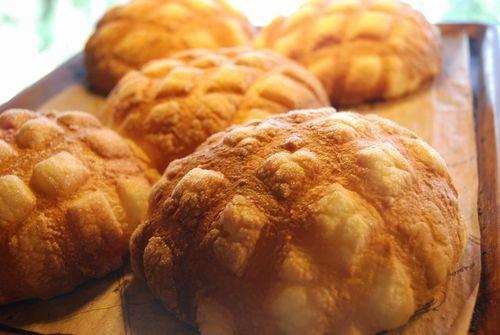 花月堂 名物ジャンボメロンパン ジャンボめろんぱん 4個入り 浅草で1日2000個以上売れる超有名なメロンパン!