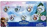 アナと雪の女王 リング&イヤリングセット (7種類) 【指輪 シールイヤリング 女の子用 キッズアクセサリー 衣装 仮装用 玩具】