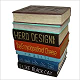 インテリアチェア イースね 座る本(椅子)本の椅子 洋書 辞典 オブジェ スツール