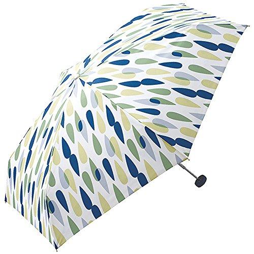 (ワールドパーティ) w.p.c 折りたたみ傘 晴雨兼用 Zipper Case Tiny Umbrella レインミニ/グリーン 554-127