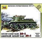 ズベズダ 1/100 WWⅡ ソビエト陸軍 BT-5 快速軽戦車(Быстроходный танк) (プラモデル) ZV6129