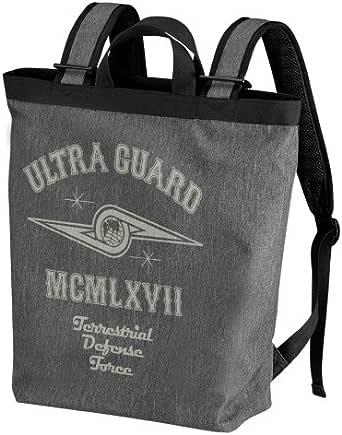 ウルトラセブン ウルトラ警備隊 2wayバックパック ヘザーチャコール 約縦44cm 横30cm マチ14cm