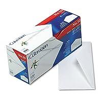 quaco196Gummed Sealビジネス封筒、Executiveスタイル、# 10、ホワイト、100/ボックス
