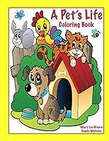 A Pet's Life Coloring Book