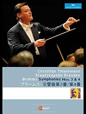 ブラームス:交響曲第3番/第4番(ティーレマン/シュターツカペレ・ドレスデン)