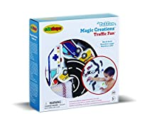 Edushape Magic Creations Traffic Fun Foam Kit by Edushape [並行輸入品]